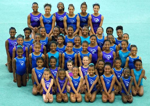 Sportsplex Gymnastics Girls Team